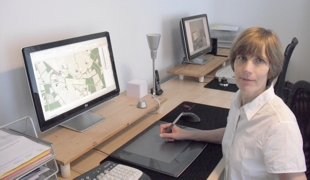 Friederike Danz, dipl. ing. landschapsarchitect